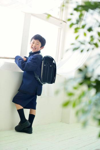 伊丹市 入学式 男の子 ランドセル