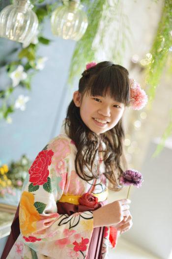 宝塚市 小学校卒業 袴 女の子