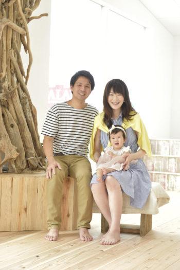家族写真 宝塚市 自然光スタジオ