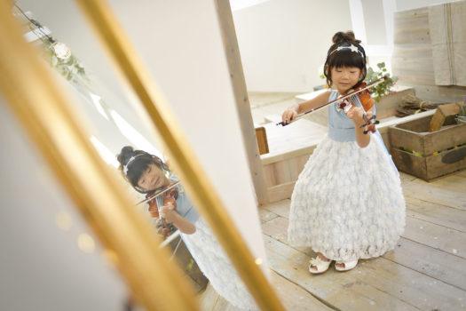 誕生日 ドレス バイオリン