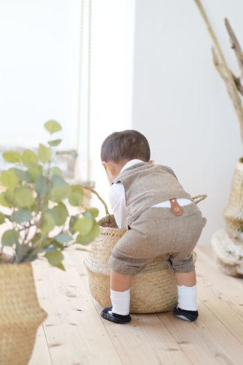 バースデーフォト 2歳 スタジオ衣裳