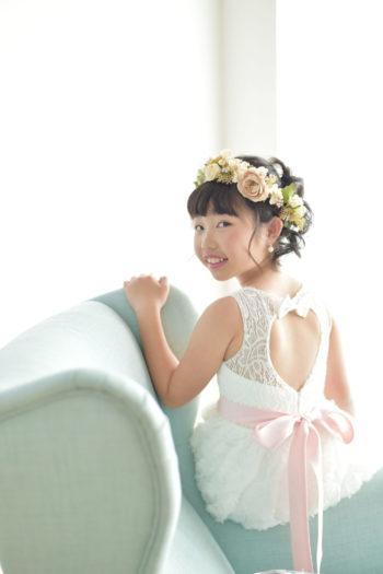 宝塚市 10歳記念 ハーフ成人式 ドレス