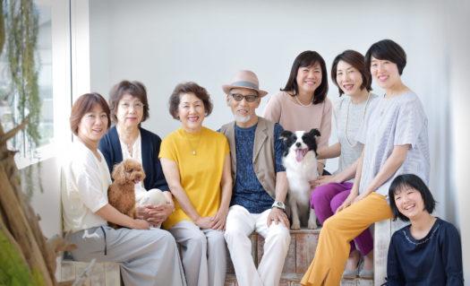 宝塚市 ペットフォト 犬と家族写真