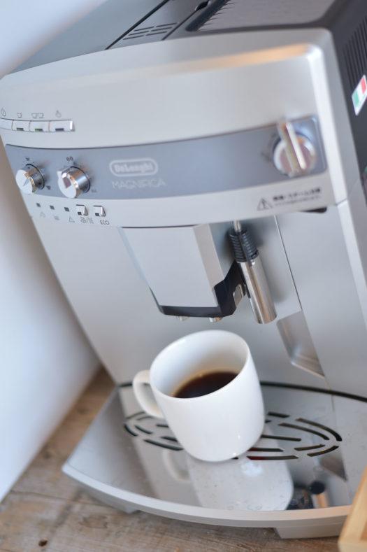 スタジオ コーヒー 受付 待ち合い