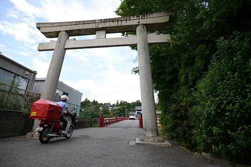 多田神社 周辺の風景