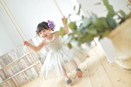 七五三 3歳女子 ドレス