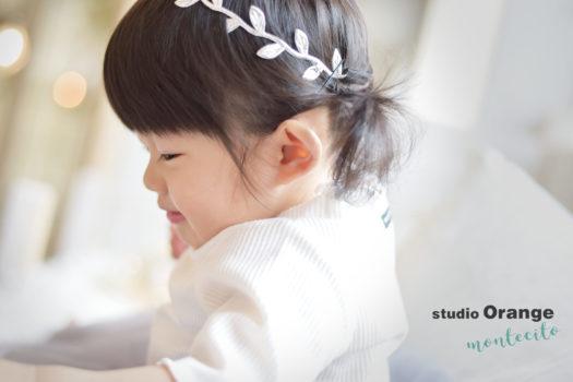 伊丹市 バースデーフォト 女の子 1歳 自然な雰囲気