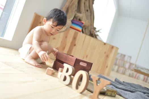 川西市 誕生日写真 男の子 1歳記念