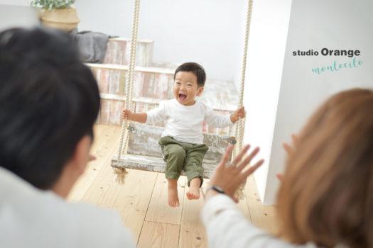 三田市 家族写真 自然な写真