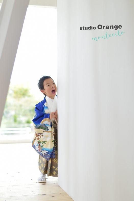 神戸市 七五三 5歳 男の子