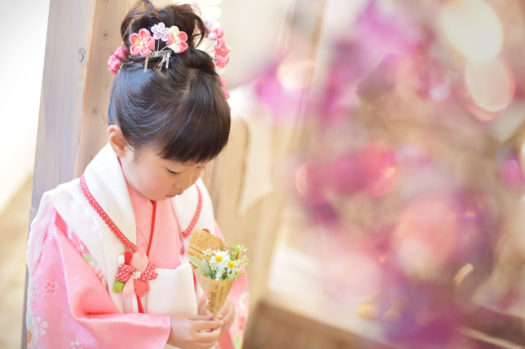 宝塚 七五三 3才 日本の伝統