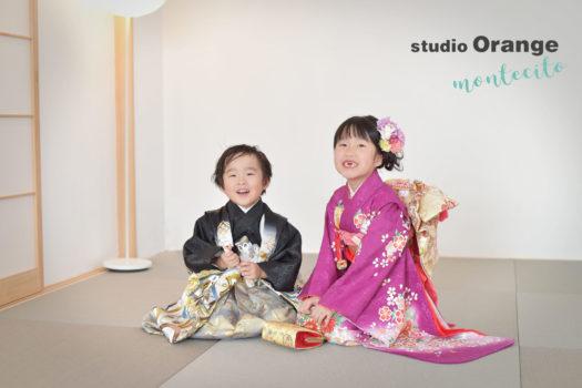 宝塚市 七五三 5歳男の子 7歳女の子