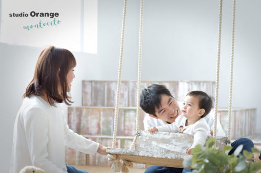 宝塚市 バースデーフォト 家族写真