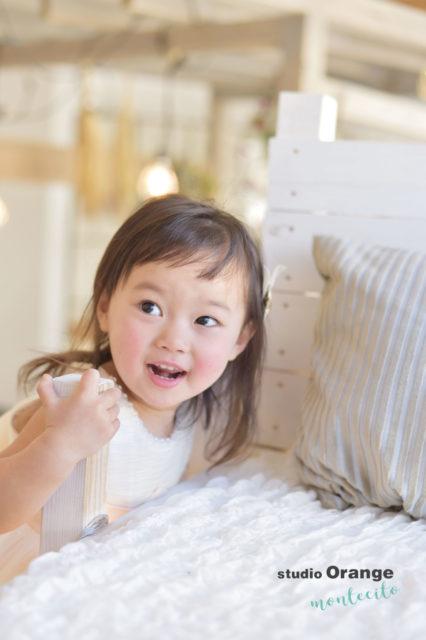 宝塚市 七五三後撮り 3歳 ドレス