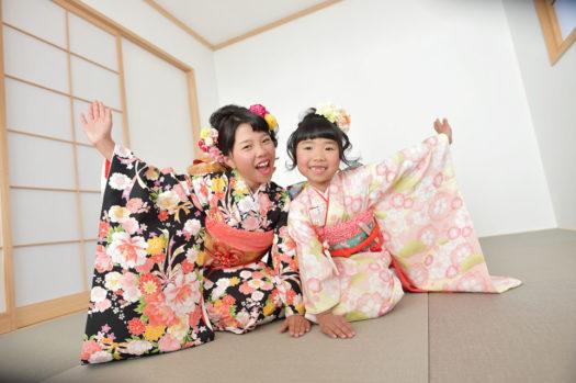 宝塚市 七五三 10歳記念 ハーフ成人式