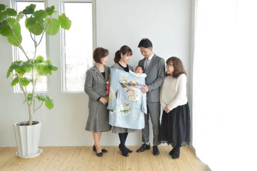 宝塚市 お宮参り 中山寺 家族写真