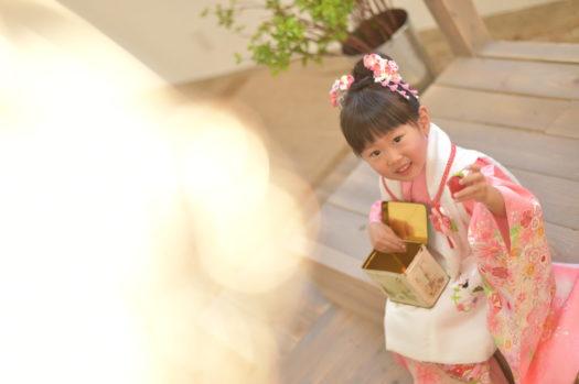 宝塚市 七五三 中山寺 着物 被布 三歳 女の子