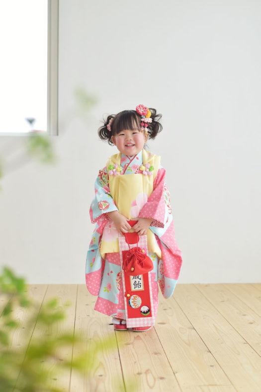 宝塚市 七五三 3歳 着物