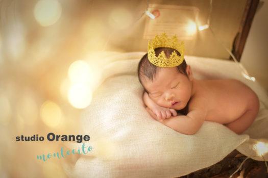 西宮市 ニューボーンフォト 新生児フォト 王冠