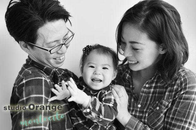 宝塚市 バースデーフォト 1歳女の子 リンクコーデ