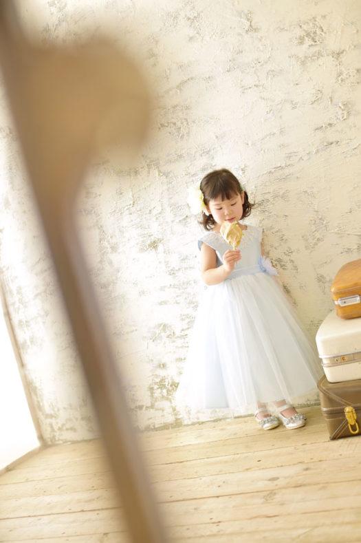 宝塚市 七五三 3歳 ドレス