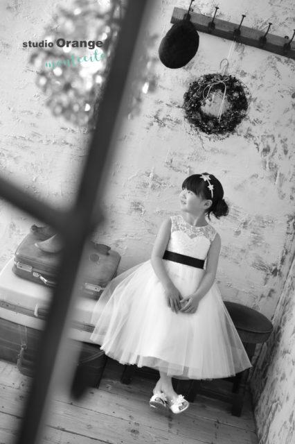 宝塚市 七五三 7歳 ドレス