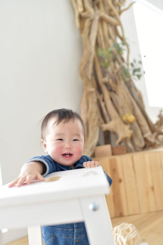 伊丹市 誕生日写真 1歳男の子