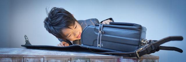 兵庫県 入学記念撮影 ランドセル 男の子