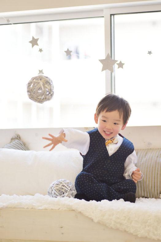 宝塚市 七五三 3歳 男の子