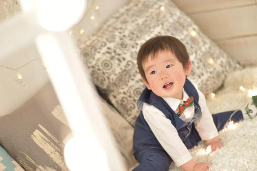 伊丹市 バースデーフォト 1歳 男の子