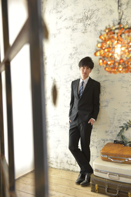 宝塚市 男性 成人式 スーツ