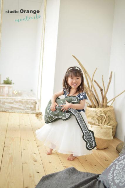 吹田市 バースデーフォト 女の子 ドレス