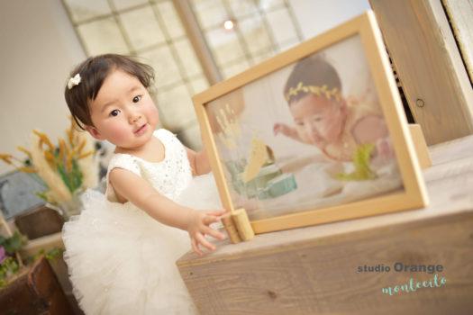 川西市 バースデーフォト お誕生日撮影 ドレス