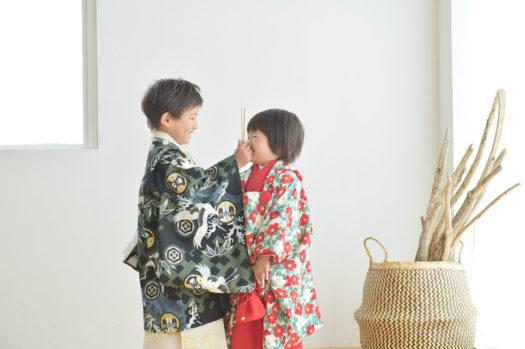 宝塚市 七五三 5歳男 3歳女