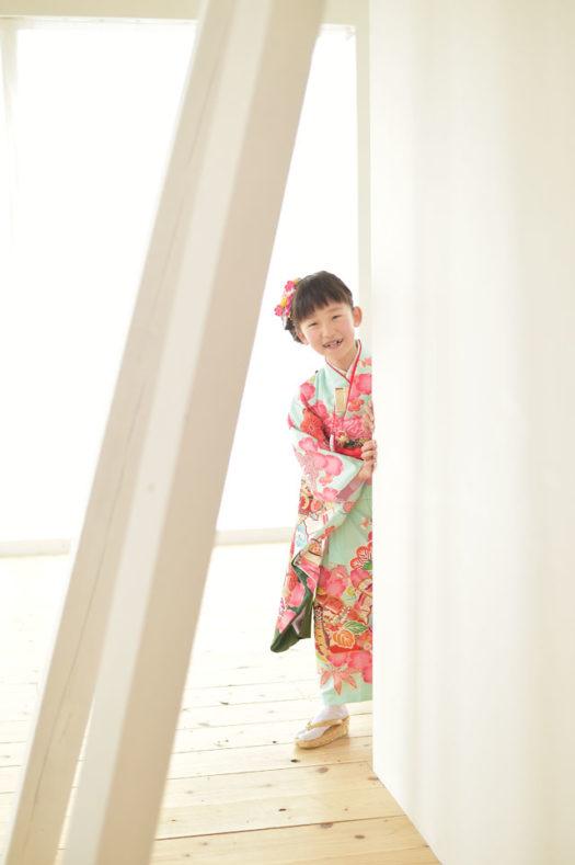 兵庫 七五三 7歳女の子