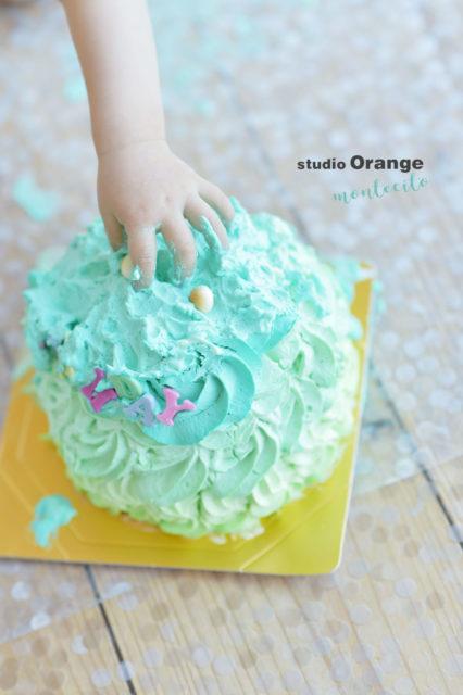 バースデー 1歳 スマッシュケーキ