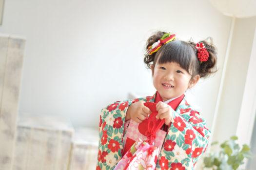 宝塚市 着物 被布コート 3歳女の子