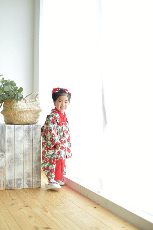 宝塚市 七五三 日本髪