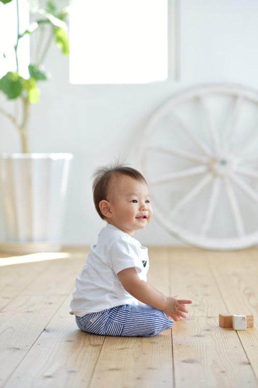 宝塚市 バースデーフォト 1歳 男の子