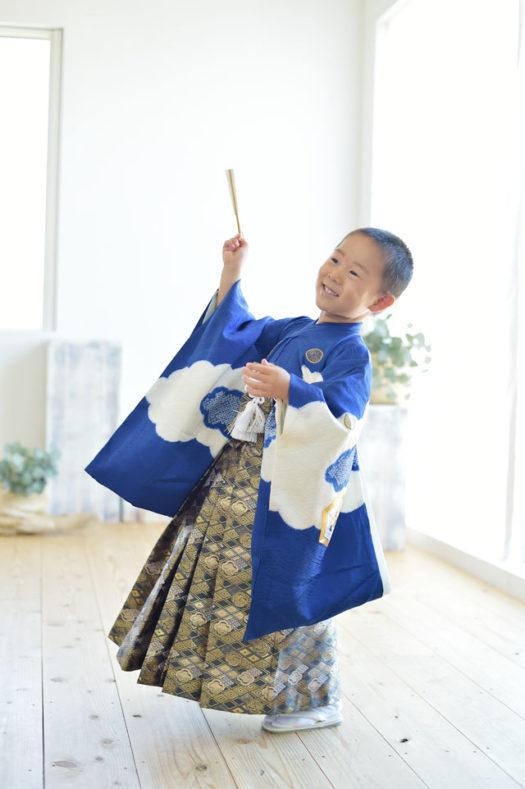 宝塚市 七五三 5歳 持ち込み着物