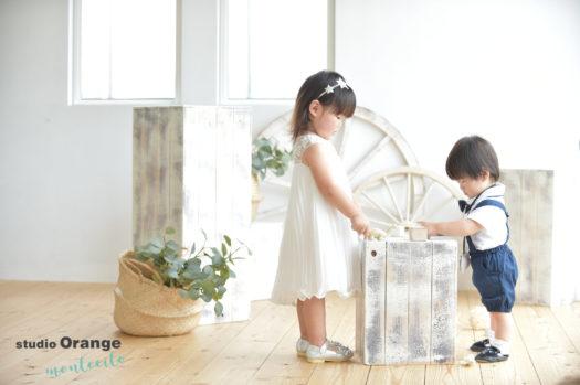 宝塚市 写真館 バースデーフォト 女の子 男の子