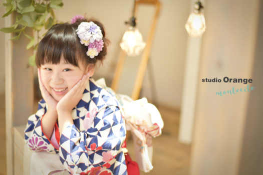 宝塚市 七五三 夏休み 前撮り 7歳女の子
