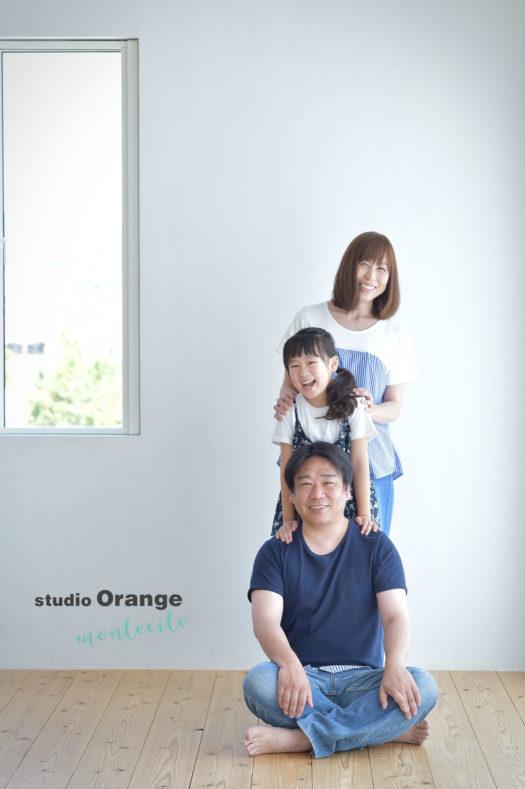 宝塚市 七五三 夏休み 前撮り 家族写真