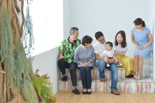 宝塚 家族写真 自然な写真