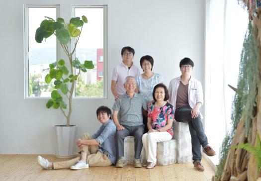 宝塚 伊丹 川西 家族写真