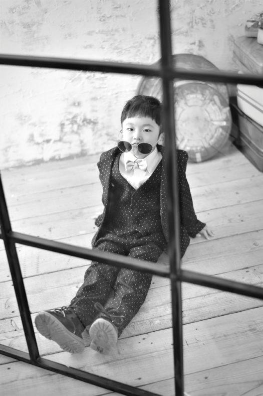 川西 七五三 5歳 洋装