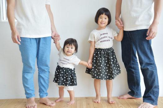 宝塚 バースデーフォト 1歳 家族写真
