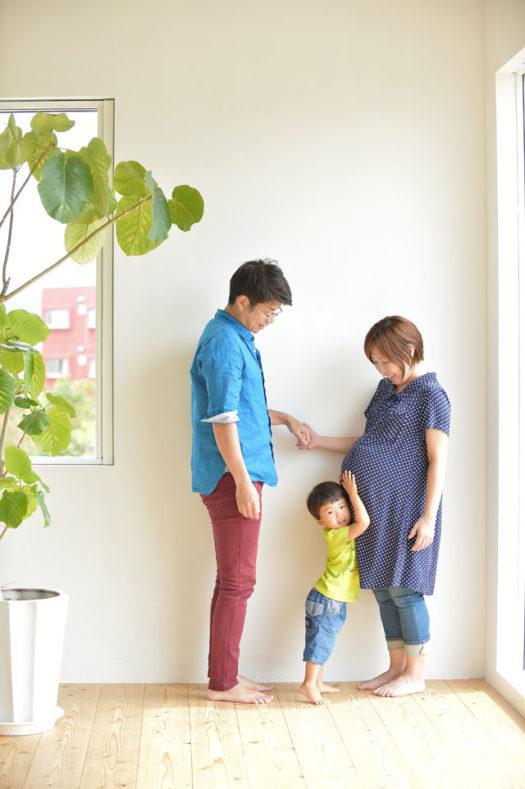 宝塚市 七五三 3歳男の子 家族写真 ファミリーフォト