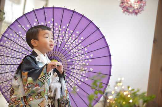 宝塚市 3歳七五三 男の子