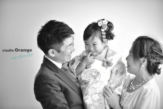 豊中市 七五三 家族写真